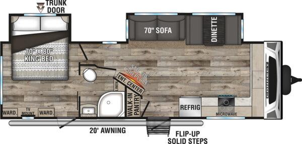 2021-KZ-RV-Connect-C272FK-Travel-Trailer-Floorplan